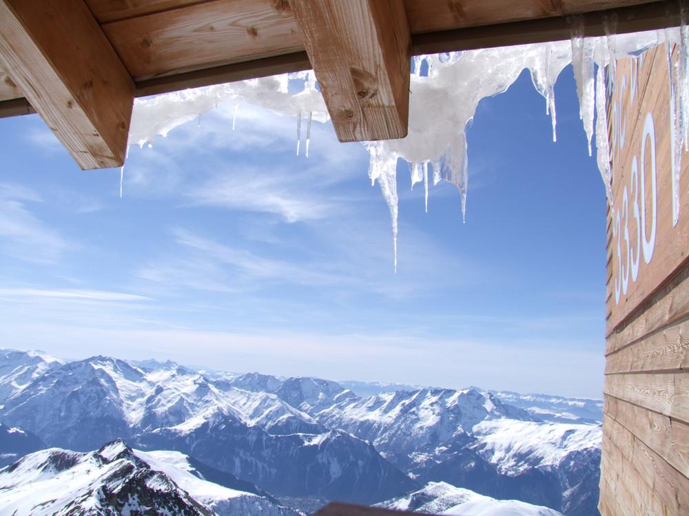 le Pic Blanc 3330 m