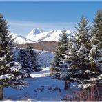Le Pic du Midi vu de Payolles – Hautes-Pyrénées