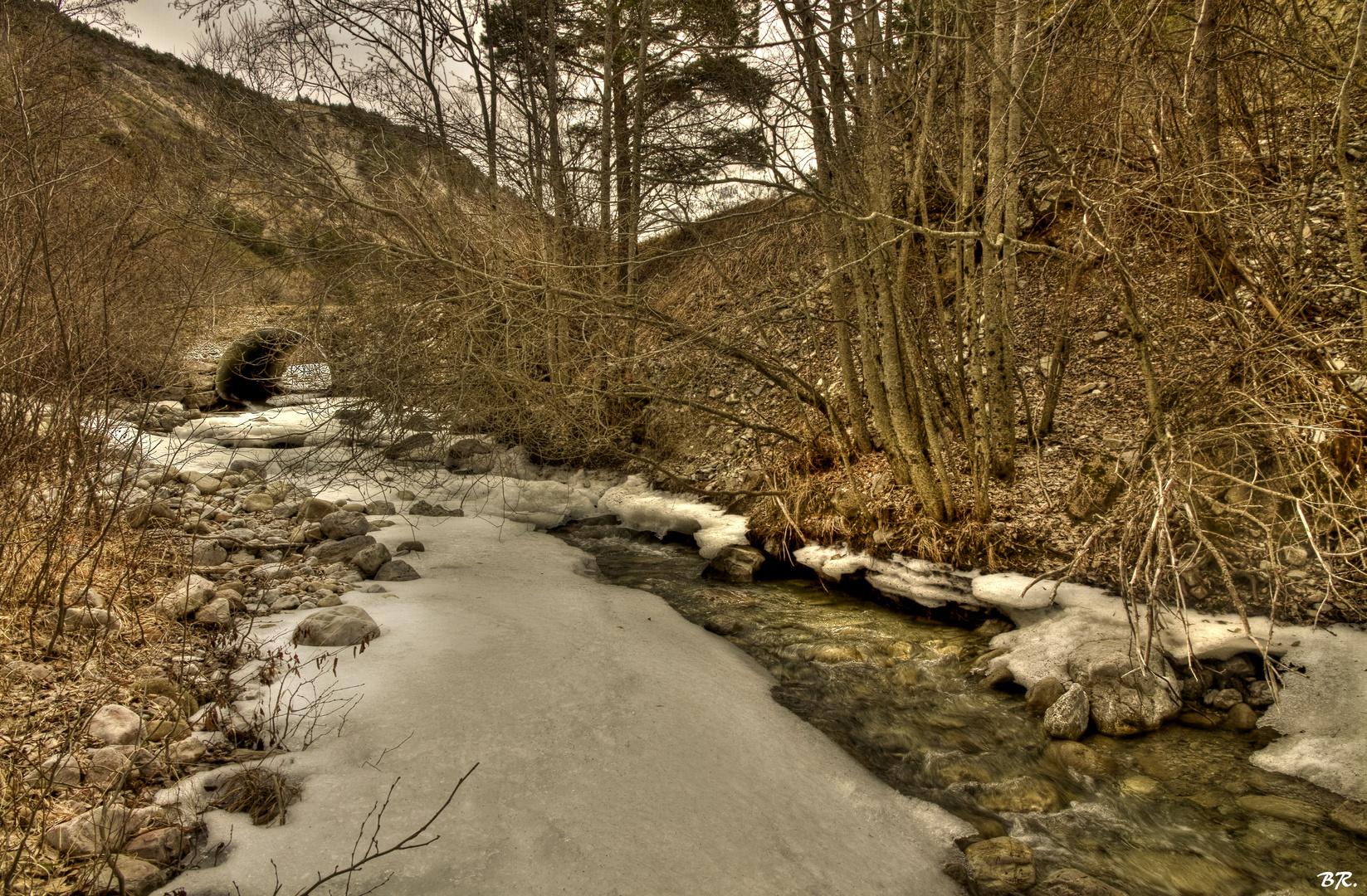le pont du Favet !!