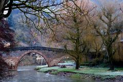 """ Le pont romain """
