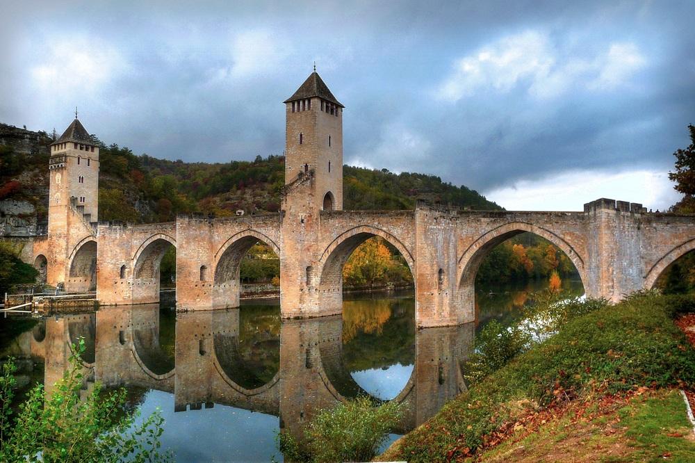 Le pont Valentré Cahors.