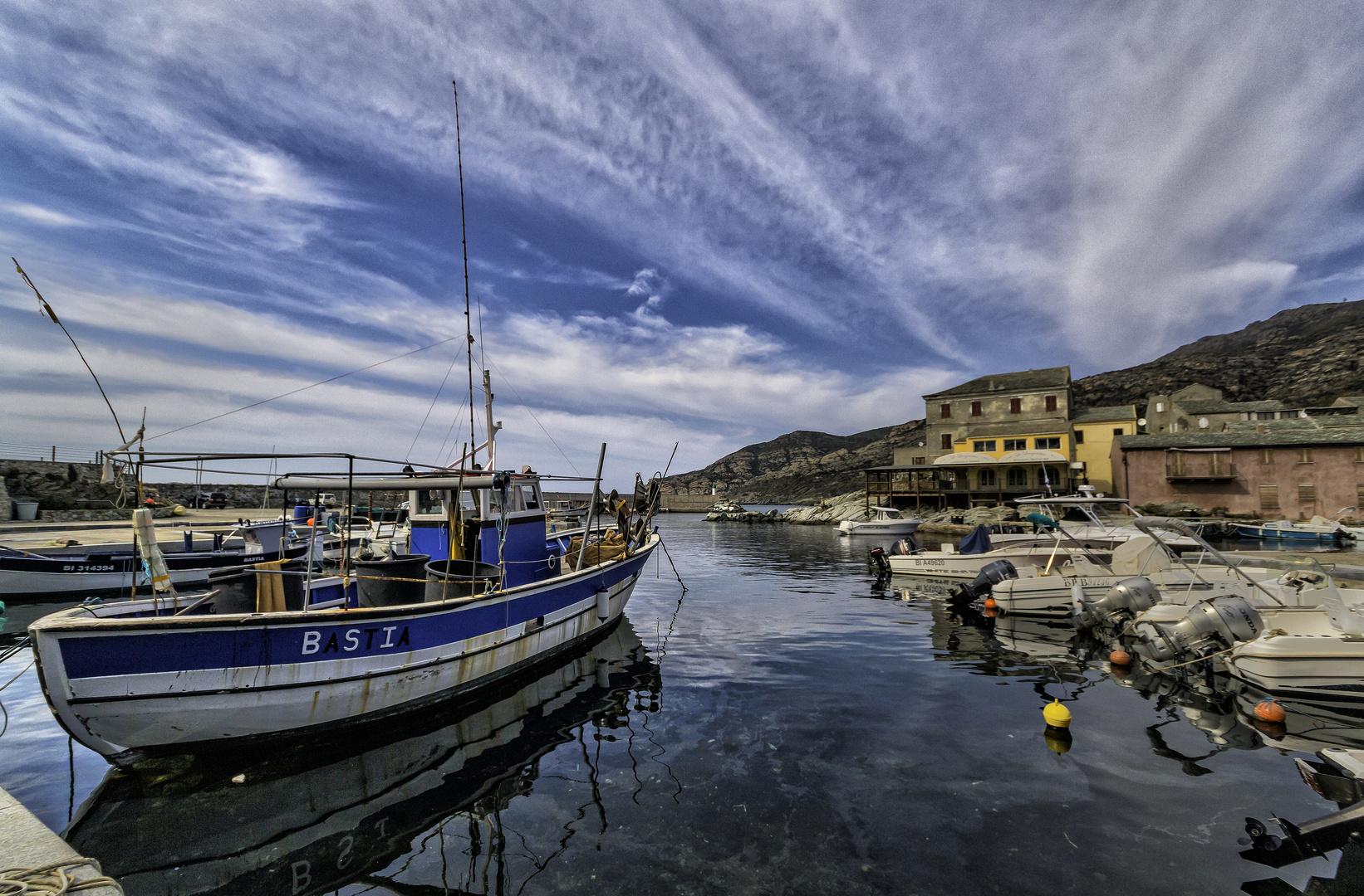 Le port de Centuri