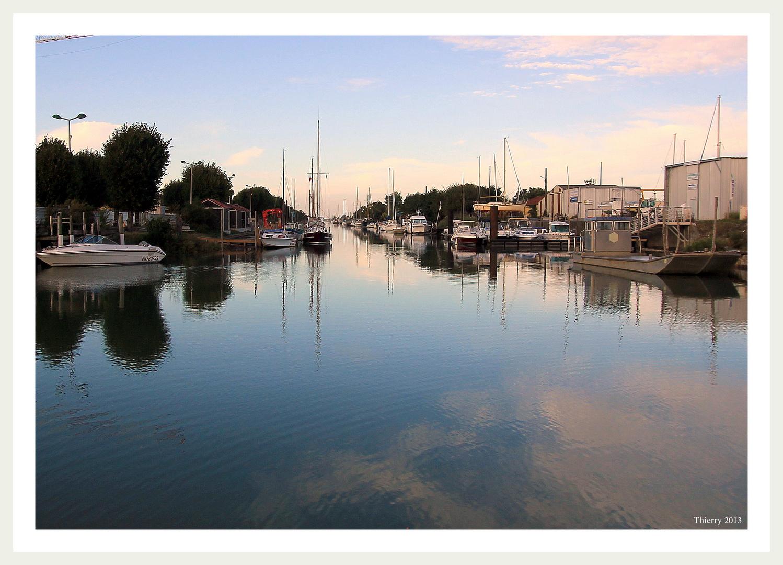 Le port de La Tremblade