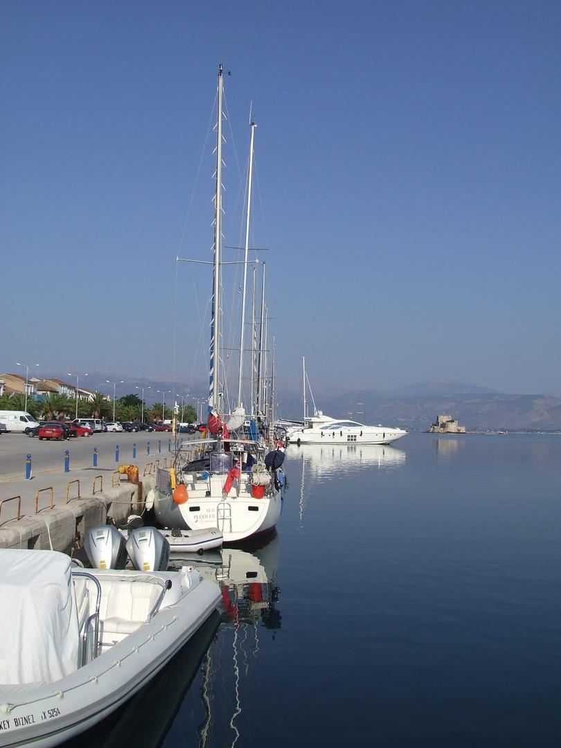 Le port de Nauplie