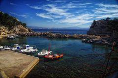 Le port de Niolon