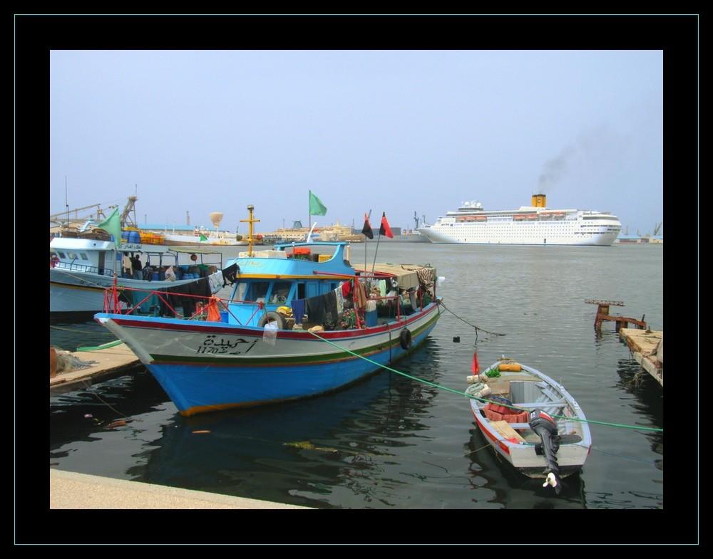 le port de pêche de TRIPOLI