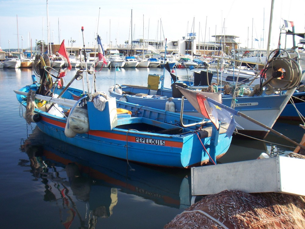 le port de Ste Maxime