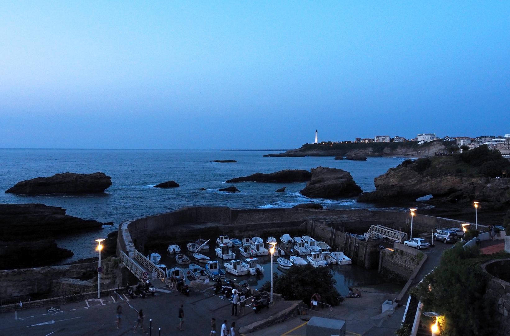 Le Port des Pêcheurs  -  Biarritz