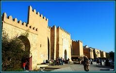 Le rempart de la ville de Sfax