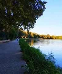 Le Rhône paisible...