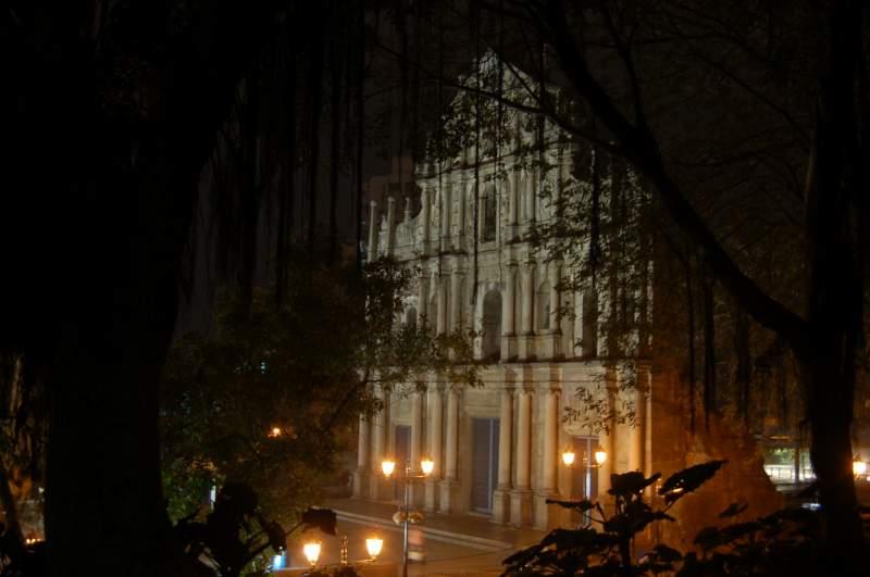 Le rovine della chiesa di S.Paulo a Macau