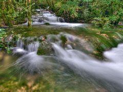 Le ruisseau vert.