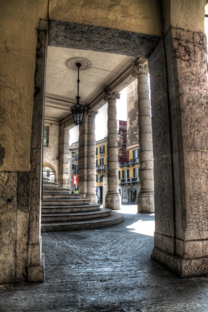 Le scale del Teatro