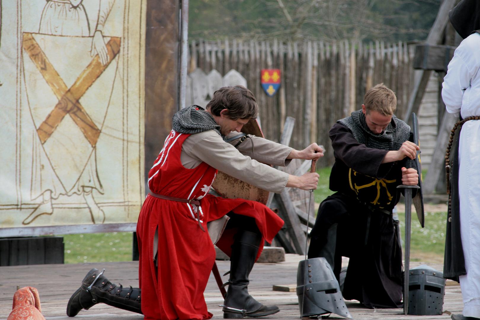 Le serment des chevaliers