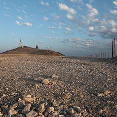 Le sommet du Ventoux ... une île dans la rocaille