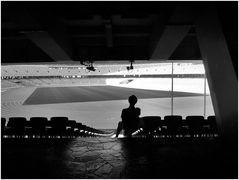 Le songeur du stade