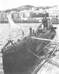 """Le sous-marin """"Casabianca"""" - 1944"""