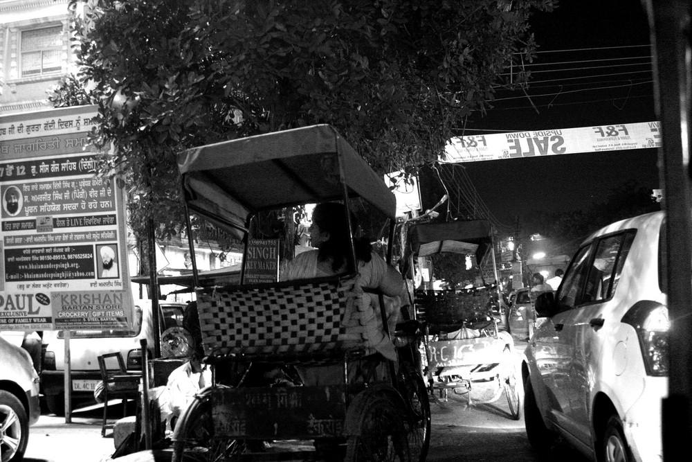 le strade di delhi