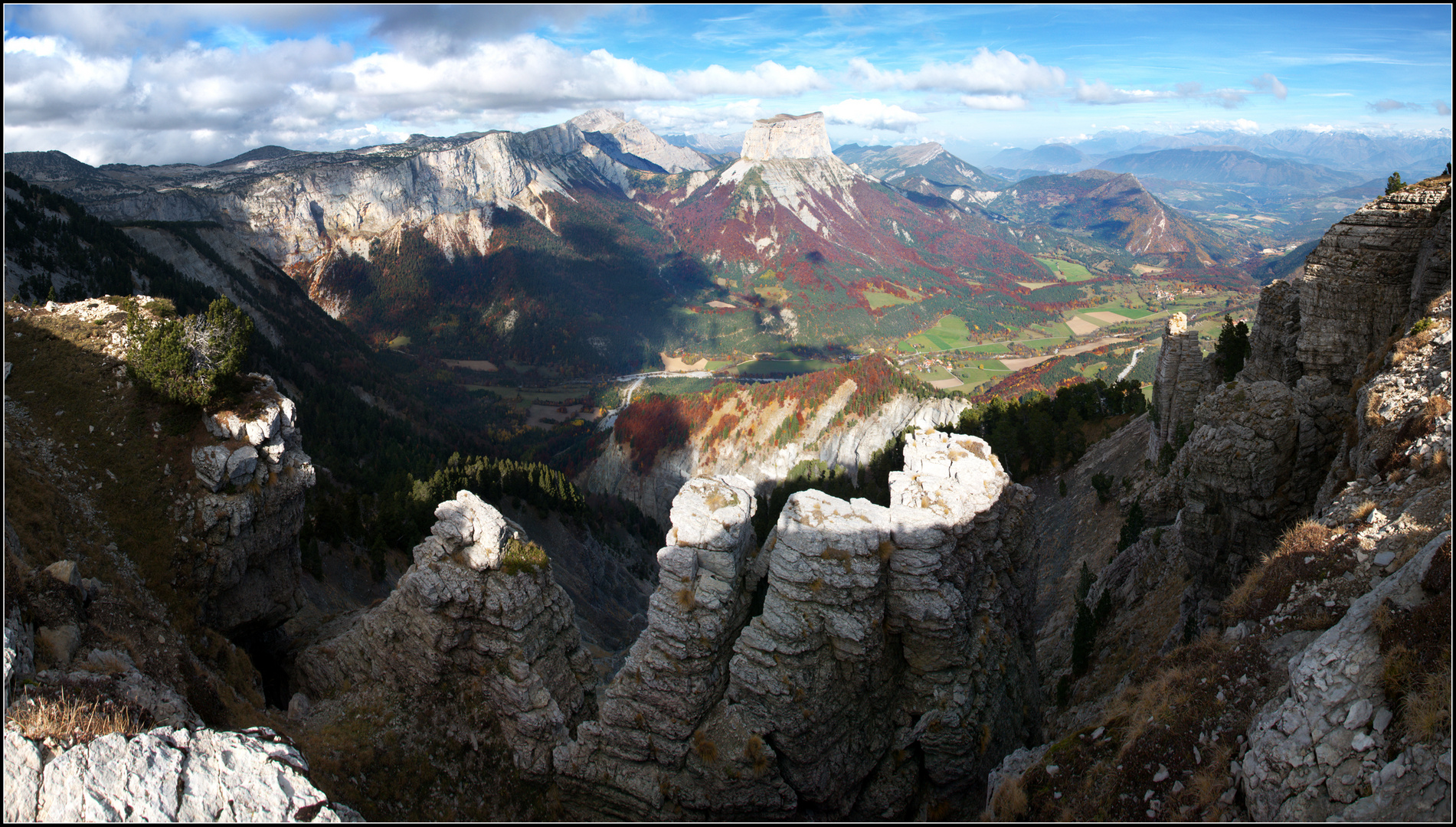 """Le superb paysage du """"Mont Aiguille"""""""