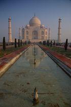 Le Taj Mahal à Agra, Uttar Pradesh-bis