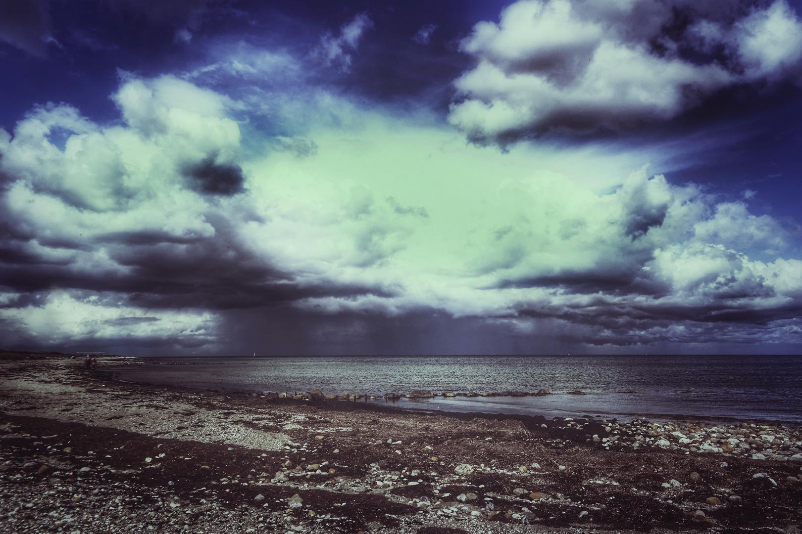 Le temps devient de plus en plus instable ........