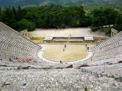 le théâtre d'Epidaure (Grèce)