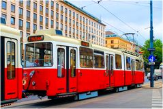Le tramway viennois