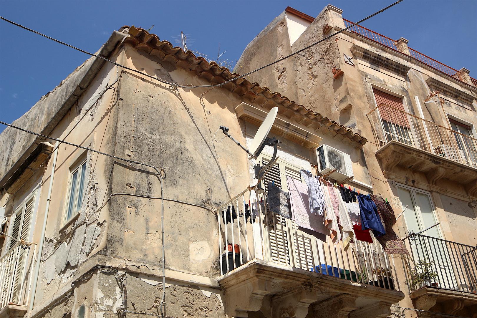 Le vecchie case di Ortigia