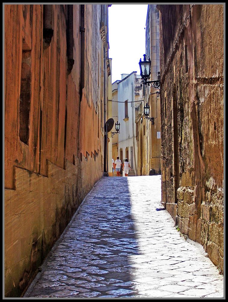 Le vecchie mura del Salento