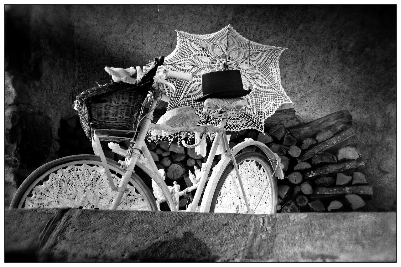 Le vélo de la mariée
