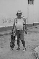 le vendeur d'ail