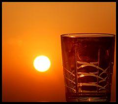 le verre...
