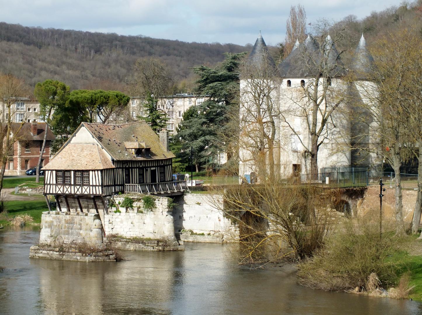 Le vieux-moulin de Vernon