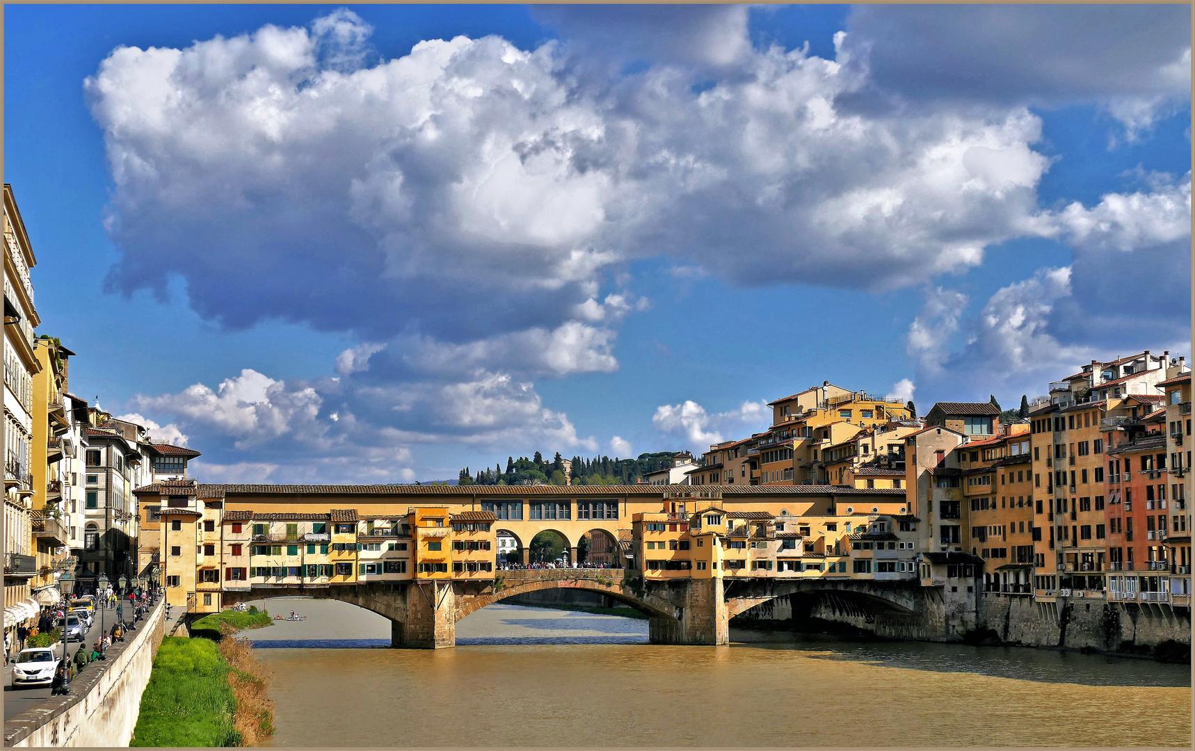 le Vieux pont de florence .....HDR