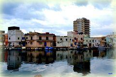 Le vieux port de Bizerte.