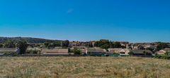 le village de Fleury d'Aude