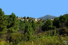 Le village de Fozzano.