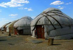 "Le ""yurte"" dei nomadi"