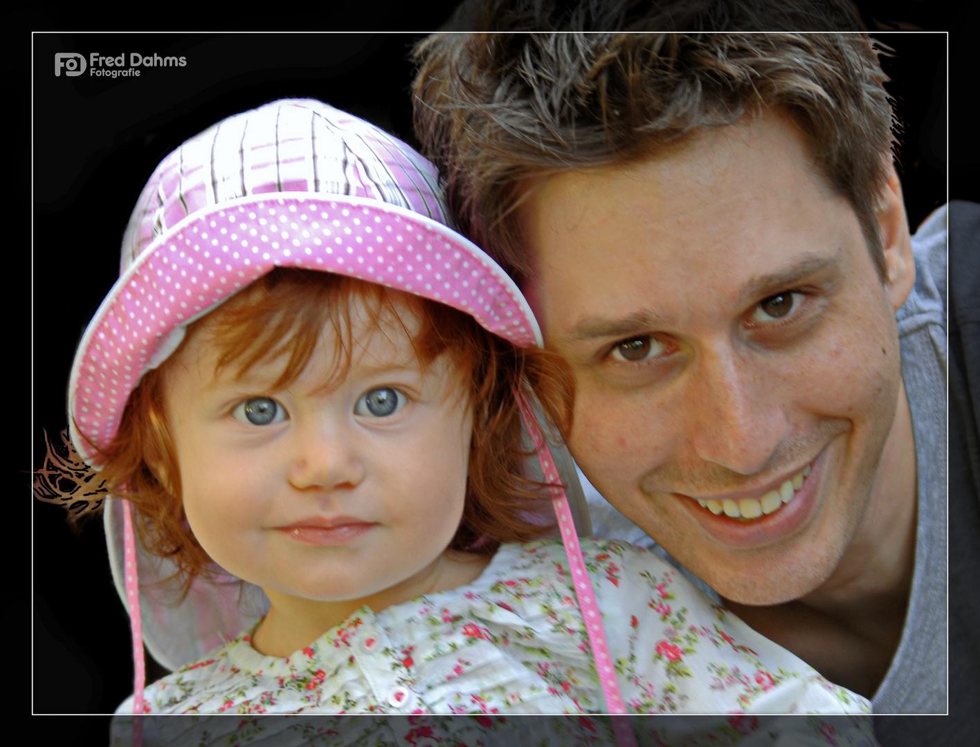 Lea und Papa