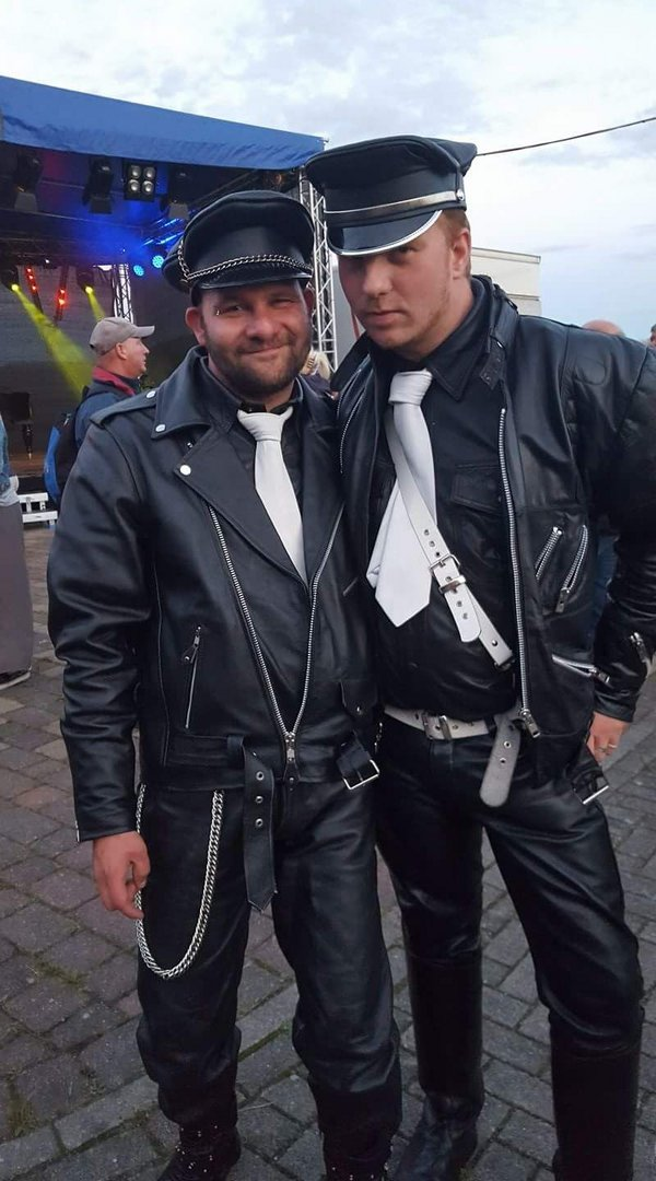 Leather Gay Isle Hiddensee