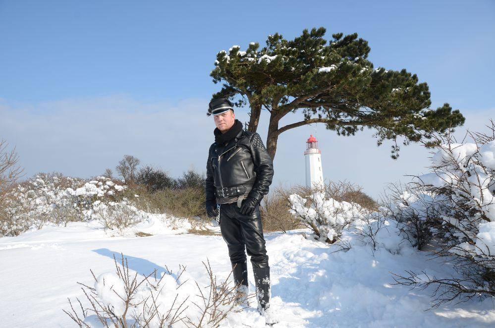 Leatherman am Leuchtturm Dornbusch