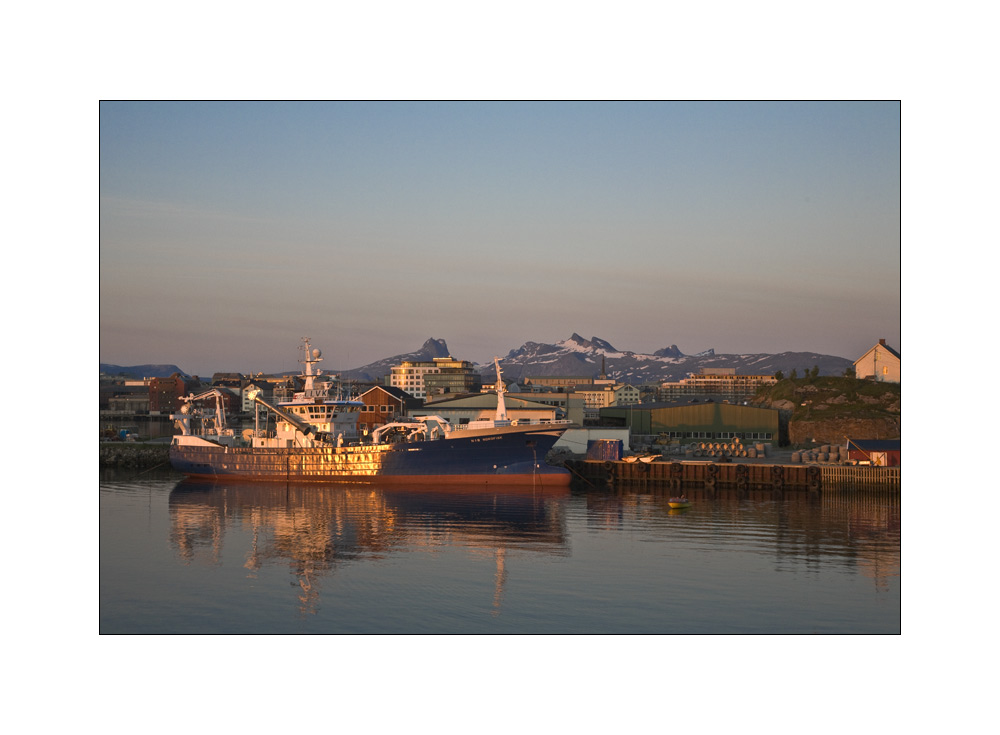 ... leaving Bodø ...