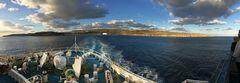 Leaving Gozo...