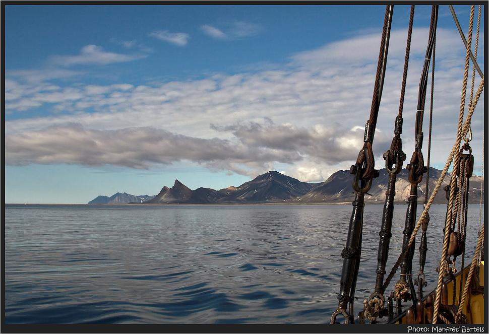Leaving Krossfjord...