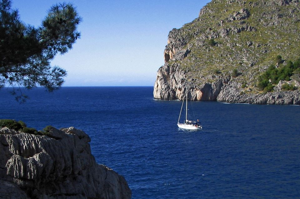 Leaving Sa Calobra