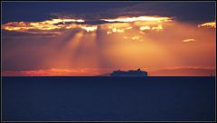 Leaving Split before Sunset