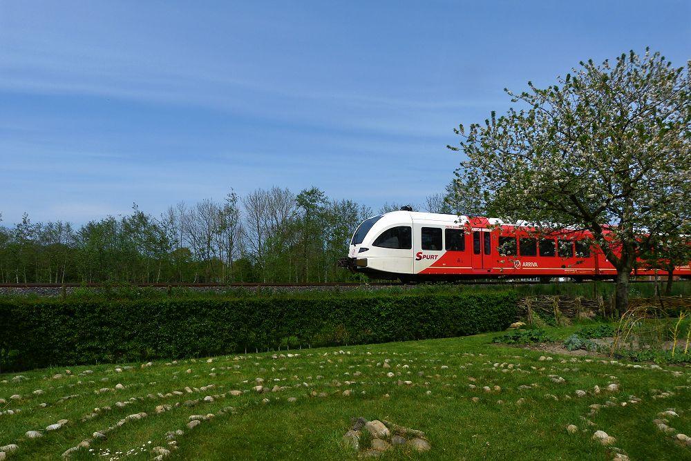 ... leaving train