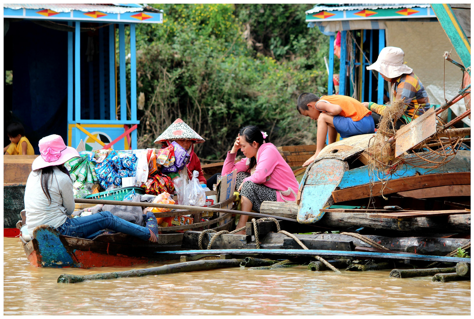 Leben am Tonle Sap See