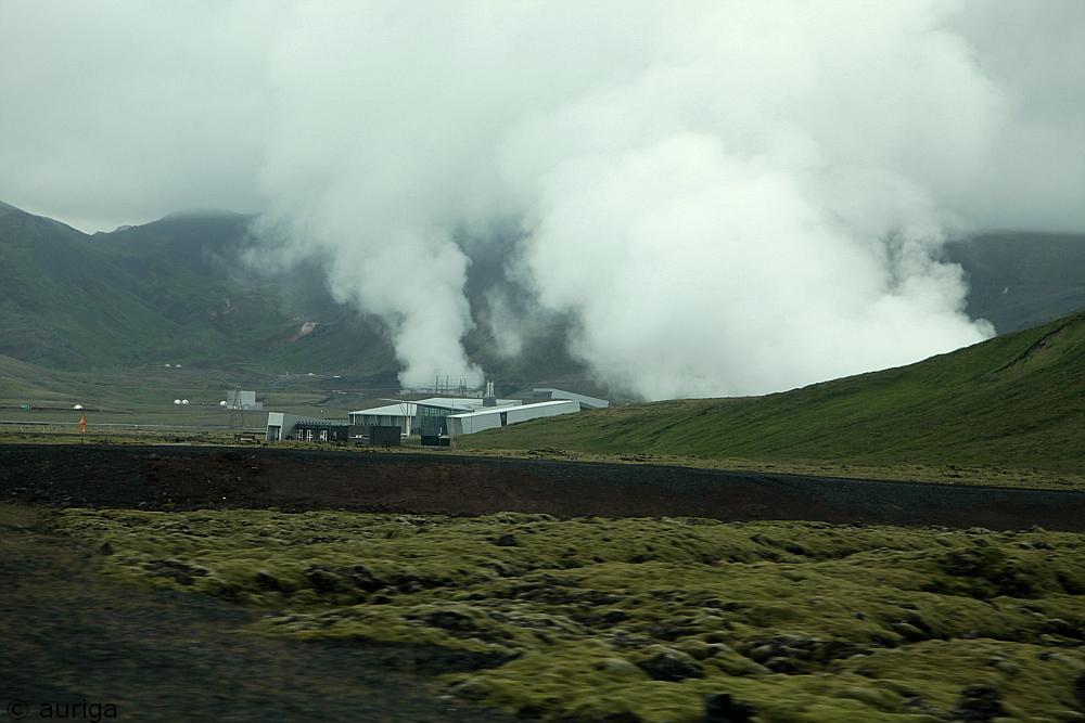Leben auf dem Vulkan...