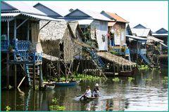 Leben auf dem Wasser-Tonle Sap Cambodia